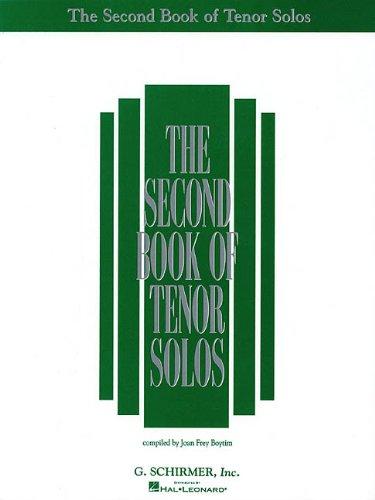 Second Book of Tenor Solos PDF Books