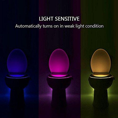 Luz de Wc con sensor de movimiento
