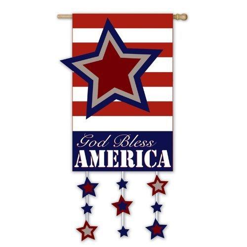 empresas-de-hoja-perenne-que-dios-bendiga-a-amrica-de-bandera-de-la-bandera-por-tiendas-online-inc
