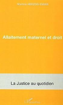 Allaitement maternel et droit (La justice au quotidien)