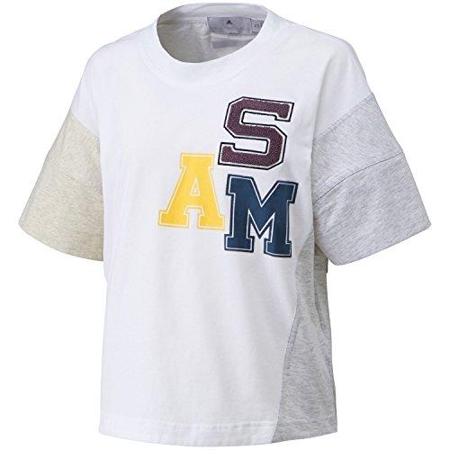 adidas By Stella McCartney Essentials Logo Tee / T-Shirt bianca