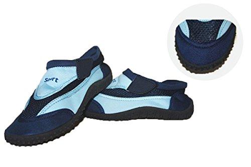 Kinder (Jungen/ Mädchen) Aquaschuhe - Strand - Urlaub - Wasser Schuhe Blau