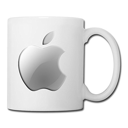 Personalized White Apple Logo Colorful Office Mug(Teetassen/Kaffeetassen) - 11oz (White House Logo)