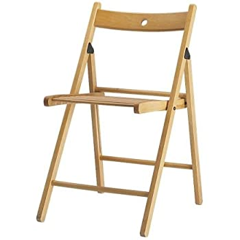 Ikea TERJE - Folding chair beech  sc 1 st  Amazon UK & Ikea TERJE - Folding chair beech: Amazon.co.uk: Kitchen u0026 Home