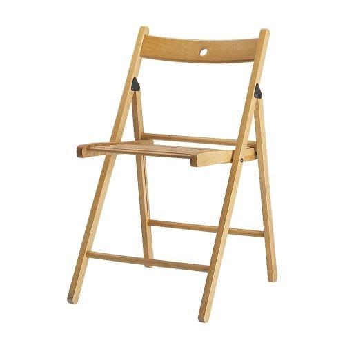 Madera Maciza sillas Plegables, para Interior y Exterior ...