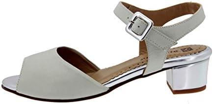 Calzado mujer confort de piel Piesanto 4475 sandalia cómodo ancho