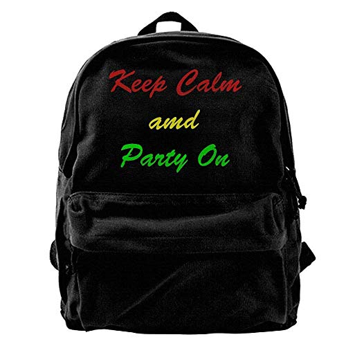 Rucksäcke, Daypacks,Taschen, Sweet Cherries Unisex Classic Canvas Backpack,Unique Print Style,Fits 14Inch Laptop,Durable,Black -
