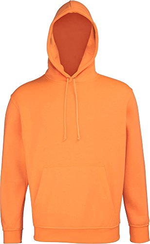 RTY Enhanced Sichtbare Hoodie Hoody – S – XXXXXL – 2 Farben Gr. XL (122 - 127 cm), Enhanced Orange (Rucksack Ugg)