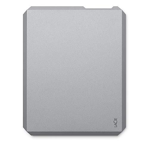 LaCie 1TB Mobile SSD High -Rendimiento External SSD USB-C USB 3.0 Unidad de Disco óptico