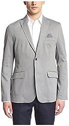 BOSS Men's Norell Diagonal Striped Sportcoat, Dark Grey, 42R