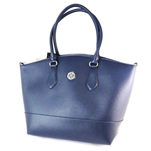 Bag designer 'Christian Lacroix'blu - 50x33x16 cm.