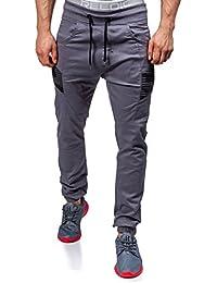 BOLF – Pantalons de sport – Jogging pantalons – Sport – Motif – Homme [6F6]