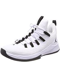 Unknown Academy - Zapatillas de Béisbol de Lona para Hombre Colores Negro/Azul Marino/Blanco Números 39.5 40.5 41 42.5 43 44 45 46 - 45, Lona, Blanco