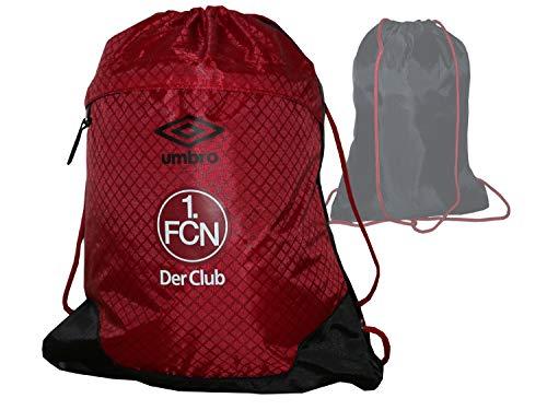 Umbro 1. FC Nürnberg - Bolsa de Deporte, Color Rojo