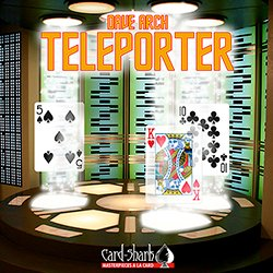 SOLOMAGIA Teleporter - Large Index by Dave Arch - Kartenspiel - Zaubertricks und Props (Arch Prop)