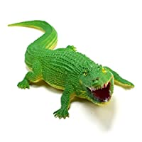 Winkey Baby Novelty Funny Toy, Education Simulated Crocodile Model Cartoon Toy Best For Kids To Learn In School, Best Gift for Children and Adult (Green)