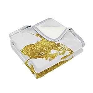 Brillante brillo Golden mapa del mundo gran tamaño manta mantas para sofá sofá tela de poliéster rey Reina tamaño camas sala de decoración para el hogar ropa de cama colcha para sofá, poliéster, multicolor, 50×60