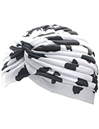 Firally Donne Nuovo Multifunzionale Turbante Orecchio Tappo Bellezza Raso  Bonnet Bella Classic Cappello Cappelli con Visiera d6baed222741