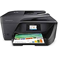 HP OfficeJet Pro 6960 - Impresora multifunción (tinta color, WiFi, fax, copiar, escanear, impresión a doble cara, 600 x 1200 ppp, incluido 3 meses de HP Instant Ink) color negro