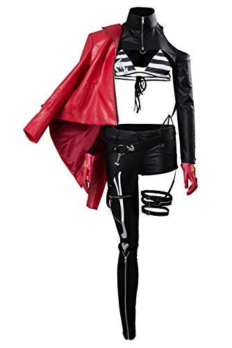 RedJade Fate/Grand Order Alter Jeanne d'Arc Cosplay Kostüm Moon Goddess Event Outfit Damen XXL