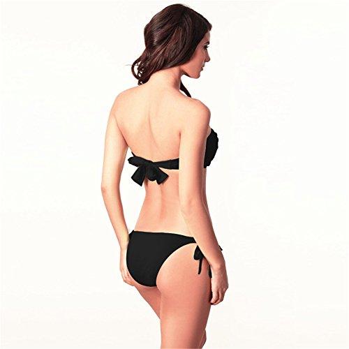 O-C Damen Bikini-Set S,M,L,XL Schwarz