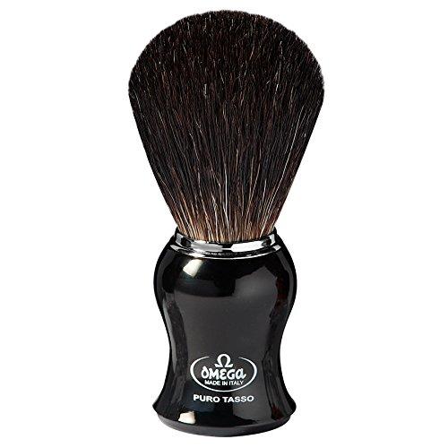 Omega 666 - Pennello da barba in puro tasso
