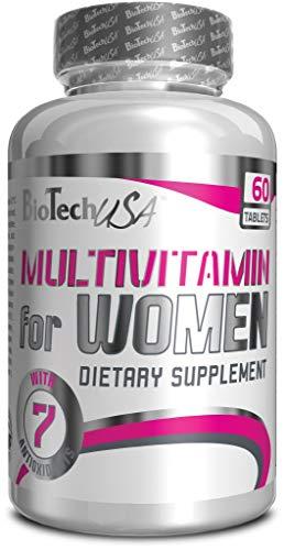 Biotech USA Multivitamin for Women, 60 Tabletten (2er Pack) - Gesundheit Multivitamin