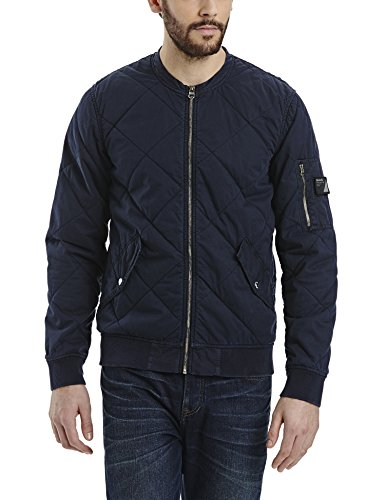 Bench Herren Trail Jacke, Blau (Dark Navy Blue NY031), Large