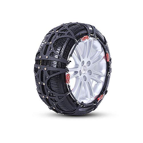 Mrtie Pneu de voiture fourgonnette SUV 165 / 70R14175 / 70R13 cryptage des pneus chaîne de neige audacieuse (taille : L-1)