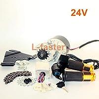 L-faster 24V36V250W Vélo électrique Kit Moteur Gauche Kit Moto Kit vélo de Montagne Kit de Moteur électrique personnalisé pour vélo Suspendu