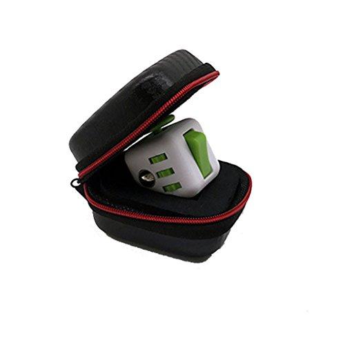 Vovotrade Geschenk für Fidget Cube Angst Stress Relief Fokus Würfel Tasche Box Tragetasche Packet