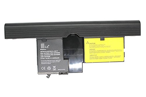 4d laptop battery for Lenovo brand ThinkPad X60 X61 (8 Cell - X60 X61 Tablet PC)
