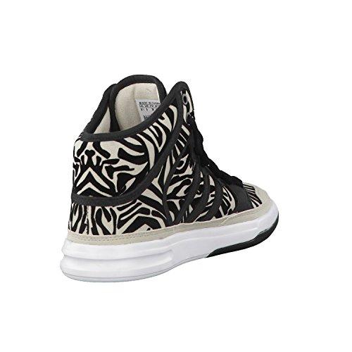 Adidas Irana, Stellasport-noir / jaune / blanc, 6 nous STELLASPORT-BLACK/YELLOW/WHITE