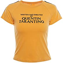 DFGTHRTHRT Camiseta de Manga Corta para Mujer escrita y dirigida por  Quentin Tarantino Camisa Unisex 67d1af2d781