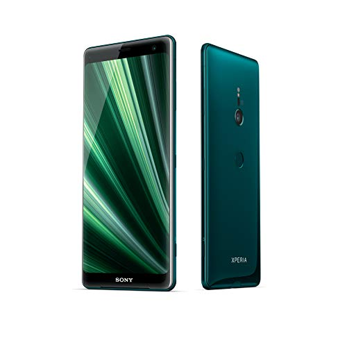 "Sony Xperia XZ3 - Smartphone de 6"" (Snapdragon 845, 4 GB de RAM , memoria interna de 64 GB, camara de 19 MP, Android), color verde + Micro SD de 64 GBs [Exclusivo Amazon]"