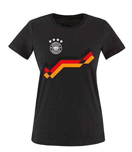 Luckja EM 2016 Deutschland Trikot Motiv 19 Damen T-Shirt (Damen-t-shirt Götze)