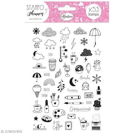 Aladine 03922 Stampo Planner Girly