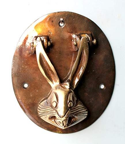 eSplanade Zahlungs-Management Bronzepferdekaninchen-Ren-Elefantklopfer Hase Mehrfarbig