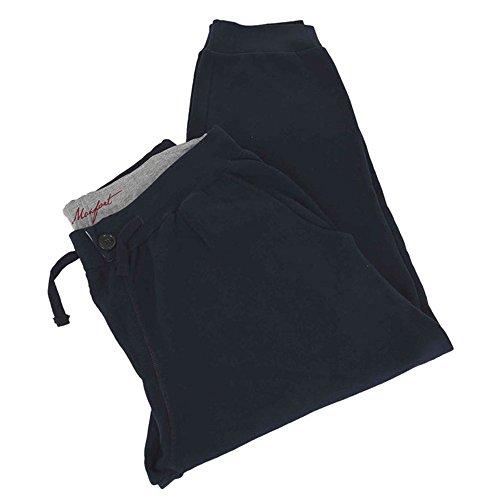 Calzone pantalone taglie forti uomo Maxfort VISTA in felpa tuta - Nero, 2XL