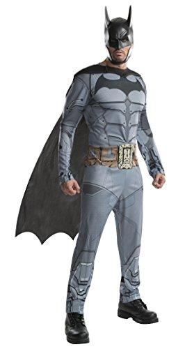 Rubie 's Herren 's DC Batman Arkham City Kostüm, Mittel, Brust 96,5-101,6cm Taille 76,2-86,4cm Hosenlänge - Batman Arkham City Kostüm