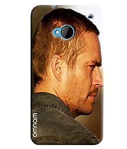 Omnam Paul Walker Printed Designer Back Cover Case For HTC One M7