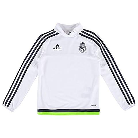 Top Training Real Madrid Blanc/Noir Junior