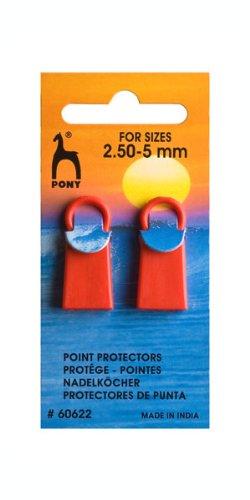 Pony Maschenstopper Standardgröße, Kunststoff, Mehrfarbig, 7.0 x 3.1 x 40.5 cm