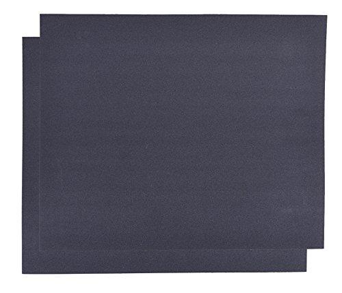 2er Set Schleifpapier K320 DIY, wasserfest I Wasserschleifpapier, Sandpapier Nass-Schleifpapier,...
