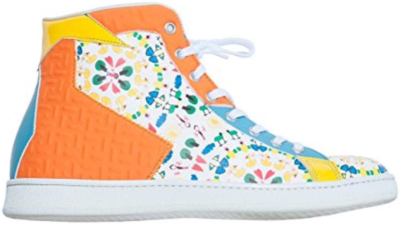 Scarpe scarpe da ginnastica Alte L4K3 LAKE Unisex STAN Limited Neoprene Arancione Azzurro STAMPA BIMBI (40 EU) | prendere in considerazione  | Sig/Sig Ra Scarpa