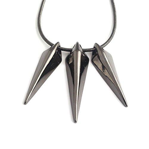 XJYA Black Panther Anhänger Halskette, Legierung Avengers Marvel New Hero Boy Schlüsselbein Halskette