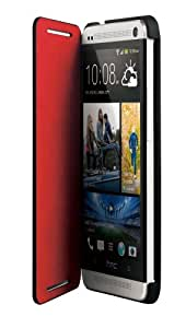 HTC HC V841 Double Dip Flip Klappcover für HTC One schwarz