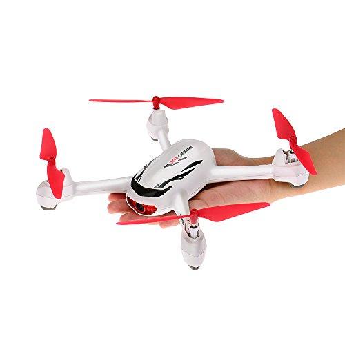 Goolsky Hubsan X4 Wunsch H502E 720P Kamera GPS RTF RC Quadrocopter Drohne mit Höhenmodus zurück zur Home Funktion - 2