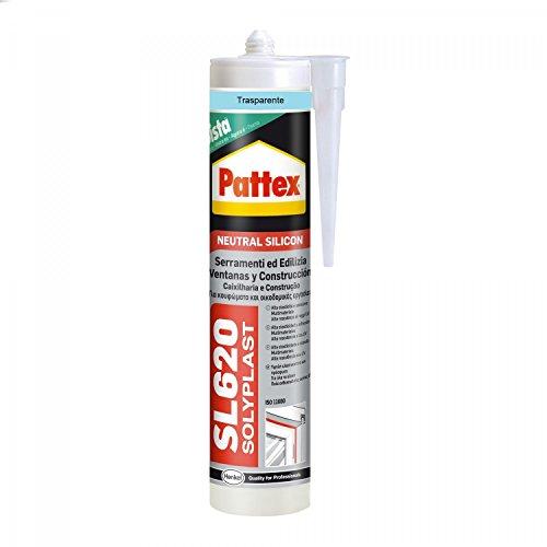 Pattex 1534716 sl 620 serramenti e edilizia, 300 ml, trasparente