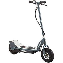 Razor - 13113612 - Vélo et Véhicule pour Enfant - Patinette Electrique E300 - Argent - Silver